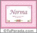 Norma - Significado y origen