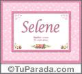 Selene - Significado y origen