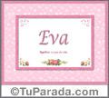 Eva - Significado y origen