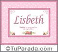 Lisbeth - Significado y origen