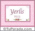 Yerlis - Significado y origen