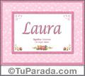 Laura - Significado y origen