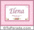 Elena - Significado y origen