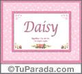 Daisy - Significado y origen