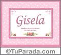 Gisela - Significado y origen