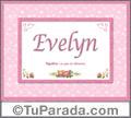 Evelyn, nombre, significado y origen de nombres