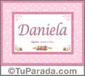 Daniela, nombre, significado y origen de nombres