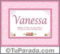 Vanessa, nombre, significado y origen de nombres
