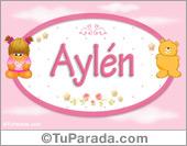 Aylén - Con personajes