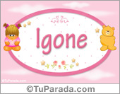 Igone - Con personajes