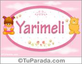 Yarimeli - Nombre para bebé