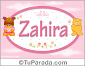 Zahira - Con personajes
