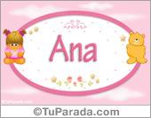 Ana - Con personajes