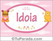 Idoia - Con personajes