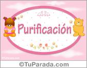 Purificación - Con personajes