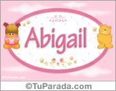 Abigail - Con personajes