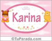 Karina - Con personajes