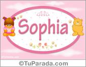 Sophia - Con personajes