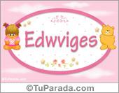 Edwviges - Con personajes