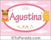 Agustina - Nombre para bebé