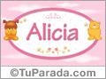 Alicia - Nombre para bebé
