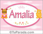 Amalia - Con personajes