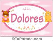 Dolores - Con personajes