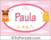 Paula - Con personajes