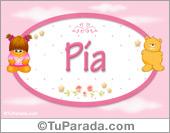 Pia - Con personajes
