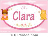 Clara - Con personajes