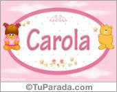 Carola -Con personajes