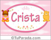 Crista - Con personajes