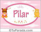 Pilar - Con personajes