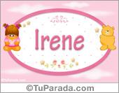 Irene - Con personajes