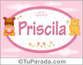 Priscila - Con personajes
