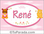 René -  Con personajes