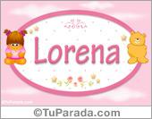 Lorena - Con personajes