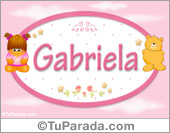 Gabriela - Con personajes