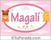 Magali - Con personajes