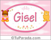 Gisel - Con personajes