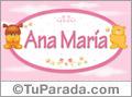 Ana María - Con personajes