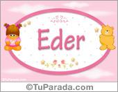 Eder - Con personajes