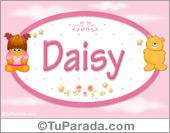 Daisy - Con personajes