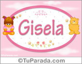 Gisela - Con personajes