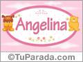 Angelina - Con personajes