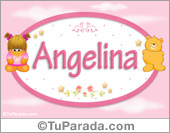 Angelina - Nombre para bebé