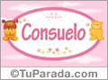 Consuelo - Con personajes
