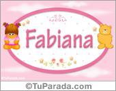 Fabiana - Nombre para bebé