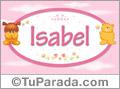 Nombre para bebé, Isabel