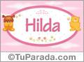Hilda - Nombre para bebé